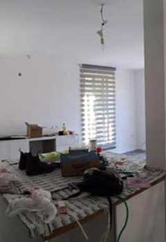 Custom Faux Wood Blinds, Long Beach